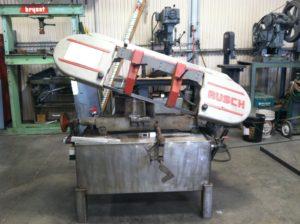sawing sheet metal