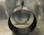 christmas firewood rack